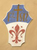 пальто florence Италия рукояток Стоковое фото RF