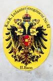 пальто habsburg рукояток стоковая фотография