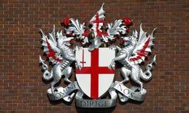 пальто london s рукояток стоковое изображение rf