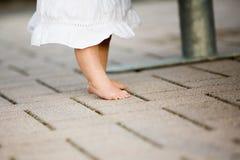 пальцы ноги младенца стоковая фотография rf