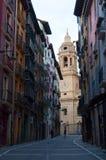 Памплона, Наварра, Баскония, Испания, Европа Стоковое Фото
