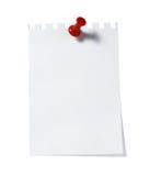 памятка бумаги офиса примечания дела Стоковая Фотография RF