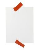 памятка бумаги офиса примечания дела Стоковое Фото