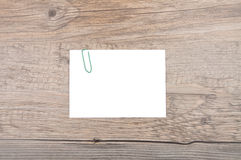 Памятка на древесине Стоковое Изображение