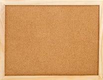 памятка пробочки доски пустая Стоковые Фотографии RF