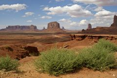 памятника долина всхода во-вторых Стоковое Фото