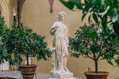 Памятники в Флоренсе Стоковое Изображение
