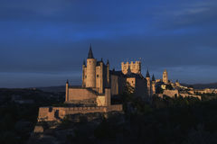 Памятники города Сеговии, реального Alcazar, Испании Стоковые Фото