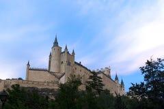 Памятники города Сеговии, реального Alcazar, Испании Стоковые Изображения