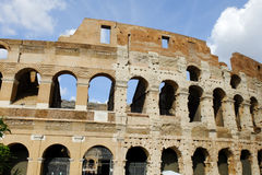Памятники имперской столицы Рима исторические стареют римское и ренессанс стоковое фото rf