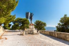 Памятники и скульптуры Греция, Chania, Крит T Стоковое Изображение