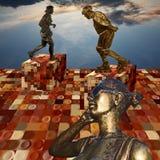 Памятники современных людей Стоковая Фотография