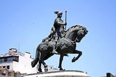 памятники lisbon Стоковое фото RF