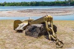 Памятник анкера металла Стоковое Изображение RF