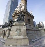 Памятник Анджела к независимости в Мексике DF Стоковая Фотография