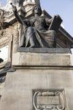 Памятник Анджела к независимости в Мексике DF Стоковые Фото