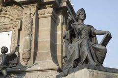 Памятник Анджела к независимости в Мексике DF Стоковые Фотографии RF