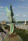 Памятник Анджела Стоковое Изображение RF