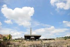 Памятник Армении Еревана в солнечном дне с голубым небом Стоковое фото RF
