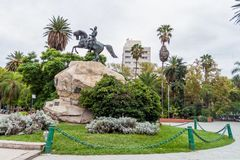 Памятник армии Анд стоковое фото rf