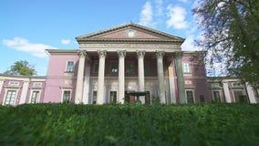 Памятник архитектуры начала девятнадцатого века, был основан в 1899, музей изящных искусств Одессы видеоматериал