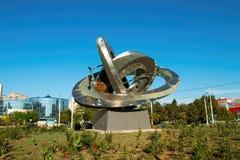 Памятник атома Стоковое Изображение RF