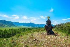 Памятник безликого мальчика Стоковые Фотографии RF