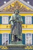 Памятник Бетховен на Munsterplatz в Бонн Стоковое Изображение