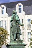 Памятник Бетховен на Munsterplatz в Бонн Стоковые Фото