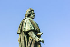 Памятник Бетховен на Munsterplatz в Бонн Стоковое фото RF