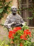 Памятник благословил Чарльза de Foucauld Евгений (1858 -1916) близко Стоковое фото RF
