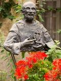Памятник благословил Чарльза de Foucauld Евгений (1858 -1916) близко Стоковые Изображения