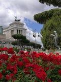 Памятник Виктор Emmanuel II Рим Италия Стоковые Изображения