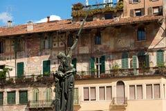 Памятник военного мемориала - Верона Италия Стоковое Изображение RF