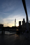 Памятник двоеточия Барселоны, Христофор Колумб, Испания Стоковое Изображение RF