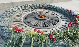 Памятник войны для неизвестного солдата в Украине стоковые изображения