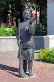 Памятник дворника женщины в Gomel Стоковая Фотография RF