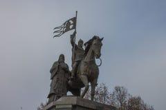Памятник в Владимире Стоковое Изображение
