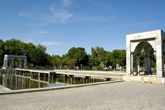 Памятник в городе Ферганы Стоковое фото RF