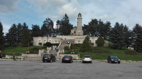 Памятник в конематке Valea - Pravat Стоковые Изображения RF