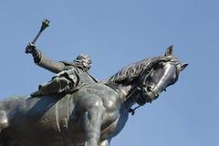 памятник в Праге Стоковое Фото