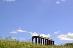 Памятник в траве Стоковые Фото