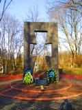 Памятник в честь жертв Holodomor, Kamenets Podolskiy, Украины Стоковые Фото