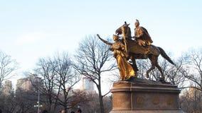 Памятник генерала Вильям Tecumseh Шермана стоковое изображение