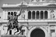 Памятник генерала Belgrano Стоковое Изображение