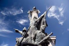 памятник героев к войне Стоковое фото RF