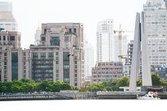 Памятник героев людей Шанхая Стоковые Фото