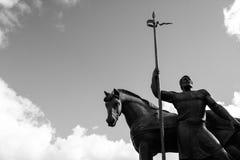 Памятник города стоковые изображения rf