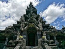 Памятник Денпасар Бали Индонезия Bajra Стоковые Фотографии RF