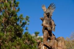 Памятник дерева Idyllwild стоковая фотография rf